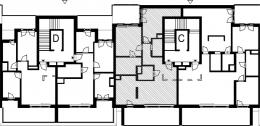 Nowe mieszkanie -72 | 87,60m2 | 3 Pokoje | 6 Piętro